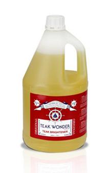 チークワンダー,チーク保護,チークオイル,チーククリーナー,チーク洗浄剤,ブライトナー