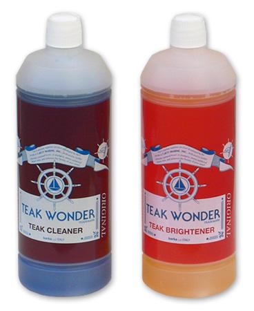 チークワンダー,チーク保護,チークオイル,チーククリーナー,チーク洗浄剤,クリーナー,ブライトナー