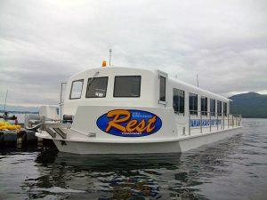 わかさぎ船,ワカサギ釣り,山中湖,ドーム船,乗合い船,釣りボート