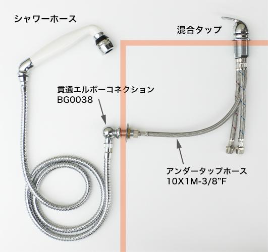 """BG0038/10X1M-3/8""""F"""
